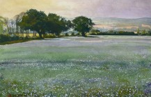 Linseed Field at Emmington