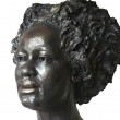 Head of Sonja – finally patinated