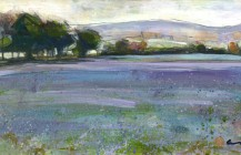 Linseed at Emmington – Acrylic