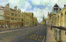 Bus Stop, High Street, Oxford