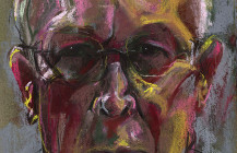 Self Portrait in Chalks